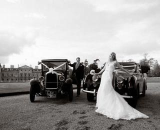 Enjoy even better wedding photos with our 2 car packages. Photo by Just-Shoot-Me Photography - http://www.just-shoot-me.co.uk