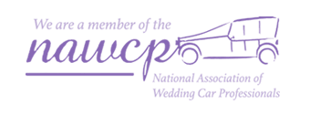 We are a member of the National Association of Wedding Car Professionals
